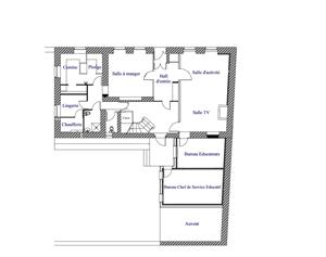 Étages dortoir 1 et 2 Lozère